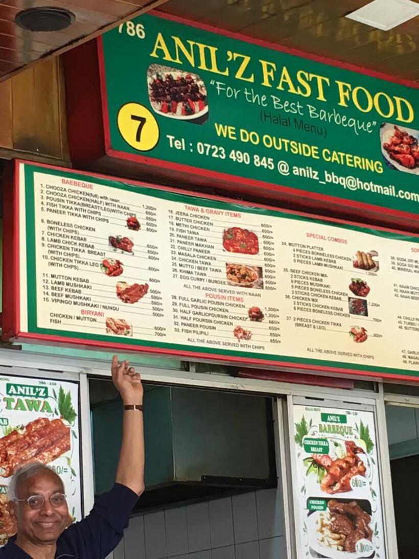 Anil Z Fast Food Nairobi 2018